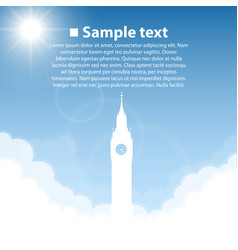 Big ben world sightseeing collection vector
