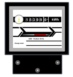 Energy meter 2 vector