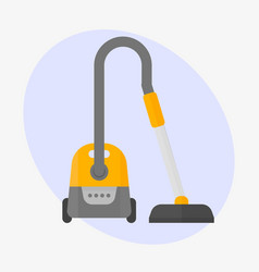 professional vacuum cleaner equipment service vector image vector image