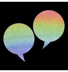 Speech buble icon vector