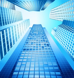 Skyscraper urban city abstract background vector
