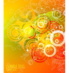 contemporary background design vector image