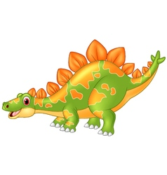 Cartoon big dinosaur vector