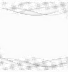 Abstract transparent halftone lines modern vector