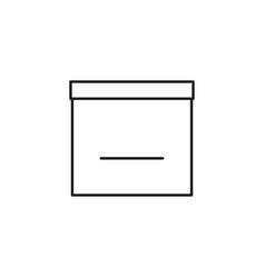 empty calendar icon vector image vector image