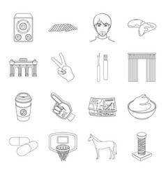 Scraper sewing sport and other web icon in vector