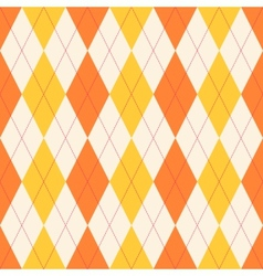 Seamless classical argyle pattern vector image
