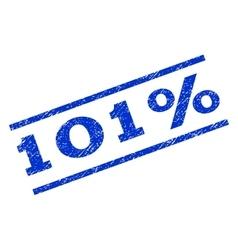 101 percent watermark stamp vector
