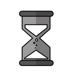 Sandglass time isolated icon vector