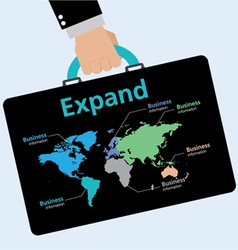 Business expansion vector