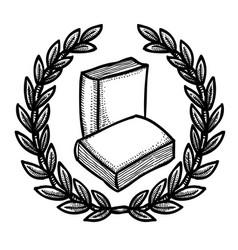 Cartoon image of book icon education symbol vector