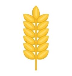 Ear of wheat icon cartoon style vector