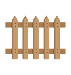 Fence in modern style vector image vector image