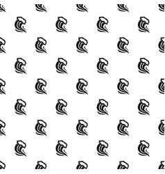 Foamy splash pattern vector