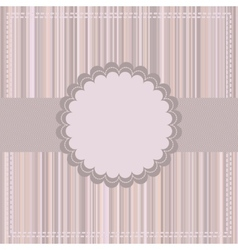 Greeting card template EPS 8 vector image
