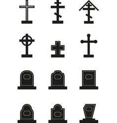 Headstone vector