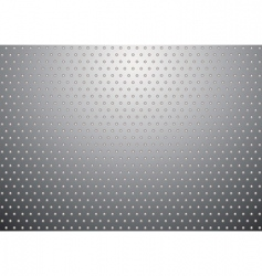 silver metal background bobble vector image vector image