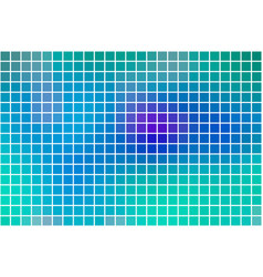 Turquoise blue purple square mosaic background vector