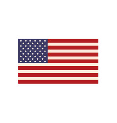 United states of america flag symbol national vector