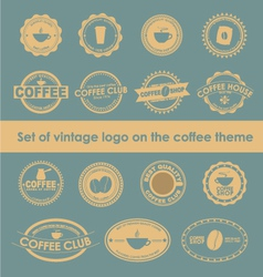 Coffee logo 4 vector