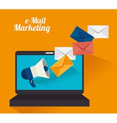 Email marketing design vector