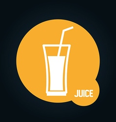 Beverage icon vector