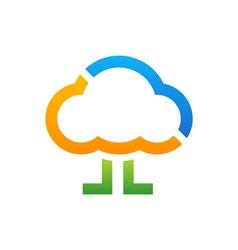 Walking-Cloud-380x400 vector image