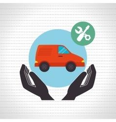 Mass transport design vector