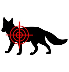 Fox crosshair vector