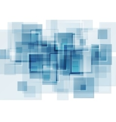 Hi-tech blue abstract background vector image vector image
