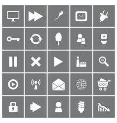 Universal Flat Icons Set 2 vector image vector image