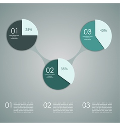 Abstract paper banner for infographics vector