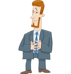 Boss character cartoon vector