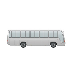 Coach bus vector