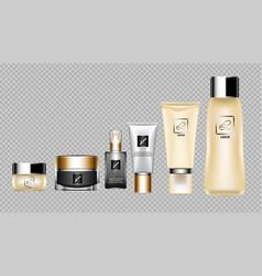 digital skin care cream vector image