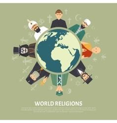 Religion confession vector