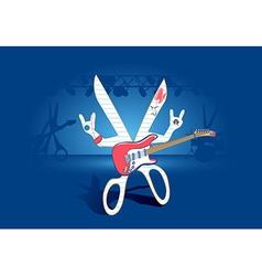 Rock Paper Scissors Concept vector image vector image