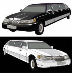 long limousine vector image