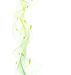 Abstract nature frame vector