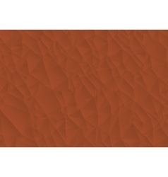 Abstract brown background consisting of triangles vector