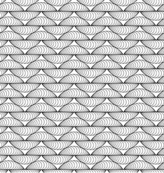 Abstract seamless knitting-like pattern vector