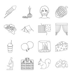 Animal atelier medicine and other web icon in vector