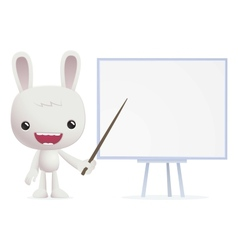 Bunny in various poses vector