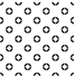 Lifebuoy pattern simple style vector
