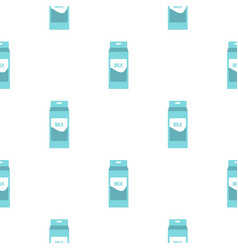 Milk pattern seamless vector