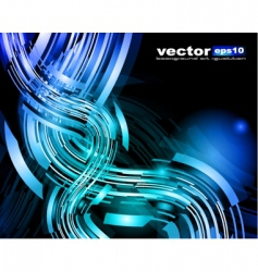 motion glow vector image