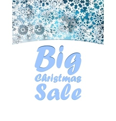 Christmas big sale design template vector