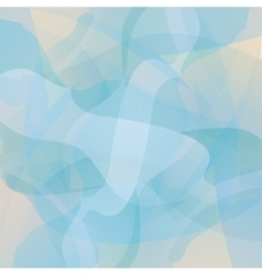 Abstract turquoise geometric background vector