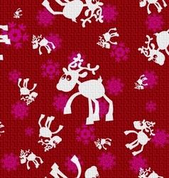 Christmas Reindeers vector image