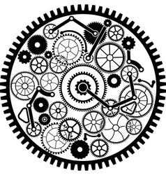 gear mechanism vector image vector image